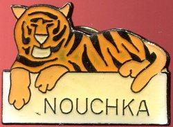 Pin's - Zoo D'Anvers (Belgique) - Tigre Surnommé Nouchka (au Verso Beukelaer) - Animaux