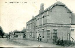 N°52123 -cpa Champagné -la Poste- - Postal Services