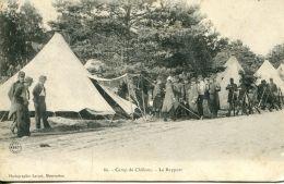 N°52127 -cpa Camp De Châlons -le Rapport- - Casernes