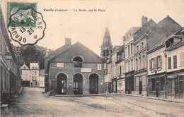 CONTY  -  La Halle Sur La Place ( Cachet Ambulant - Conty