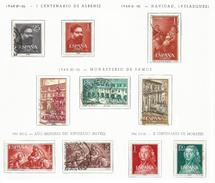 ESPAÑA-SPAIN AÑOS 1960-1961 EDIFIL 1320/1329 USADOS. 5 SERIES COMPLETAS. - 1931-Aujourd'hui: II. République - ....Juan Carlos I