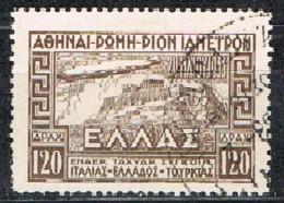 Griechenland 1933 Italienfahrt Luftschiff Graf Zeppelin Michel 354 Gestempelt - Usados