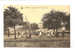 HOUSSE La Recolte D Un Dur Labeur - Blégny