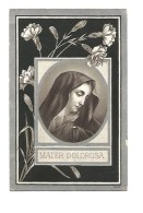 N 73.  CATHARINA VAN KALDERKERCKEN  - °VENLO 1822  /  1902 - Images Religieuses