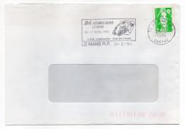 1994--Sport MOTO--flamme 72-LE MANS 24 Heures Moto-- A.S.M Club Ouest--sur Tp Marianne Bicentenaire 2.40f - Moto