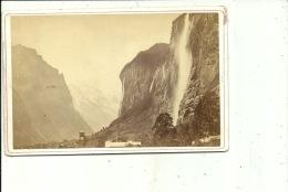 R. Leuthold, Interlaken, Vallée De Lauterbrunnen Vallée De Lauterbrunnen Ti - Antiche (ante 1900)