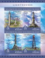 SOLOMON Isl. 2016 - Lighthouses - Vuurtorens