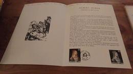 68/DOCUMENT PHILATELIQUE PREMIER JOUR  ALBERT DURIER - Documents De La Poste