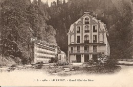 74. CPA. Haute Savoie. Le Fayet. Grand Hôtel Des Bains - France