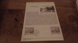 68/DOCUMENT PHILATELIQUE PREMIER JOUR  ALFRED SISLEY CANAL DU LOING - Documents De La Poste