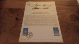 68/DOCUMENT PHILATELIQUE PREMIER JOUR SALON INTERNATIONAL DE LAERONAUTIQUE ET DE L ESPACE - Documents De La Poste