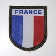 ECUSSON MILITAIRE : OPEX ARMEE FRANÇAISE - DRAPEAU DE LA FRANCE - Ecussons Tissu
