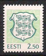 Estonia Eesti Estland 1996 Coat Of Arms, 2.50 Mi 287  MNH(**) - Estland