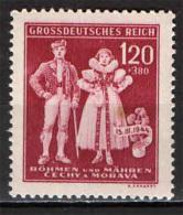 BOEMIA E MORAVIA - 1942 - FOLCLORE - COSTUMI TRADIZIONALI - SEE 2 SCANS - NUOVO MNH - Boemia E Moravia