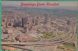 Etats Unis - Greetings From Houston - Houston