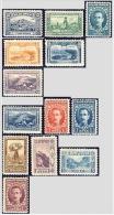BULGARIA 1921 HISTORY Regular Stamps PEOPLE (London Edition) - Fine Set MNH - 1909-45 Königreich