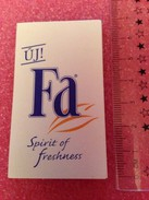 FA Spirit Of Freshness - Hongroise - Perfume Cards