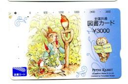 Titre De Transport Japon - Peter Rabbit - Transportation Tickets