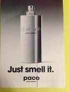 JUST SMELL IT. De PACO RABANNE - Parfumkaarten