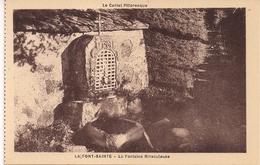 CPA - 15 Cantal - La Font Sainte - Saint Hippolyte - Pélerinage Du Berger - 1931 - La Fontaine Miraculeuse - Saint Flour
