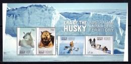 Australian Antarctic 2014 Era Of The Husky Minisheet MNH - Australian Antarctic Territory (AAT)