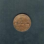 """MEDALLA CHILENA DE 1924 """"PRO RECONSTRUCCION DEL HUASCAR"""". - Chile"""