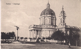 Torino Basilica Di Superga Cartolerie Sorelle Garavagno Monumento Umberto - Churches