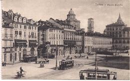 CPA - Italie - Torino - Plazza Castello - Sorelle - Garavagno - Places