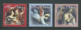 Tonga 2013 Christmas Paintings Of Angels Set Of 3 MNH - Tonga (1970-...)