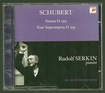 CD PIANO - SCHUBERT : SONATE D.959 / LES 4 IMPROMPTUS - RUDOLF SERKIN, Piano - Klassik