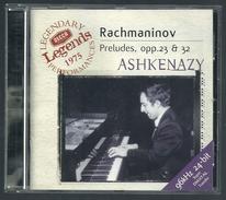 CD PIANO - RACHMANINOV : 24 PRELUDES - VLADIMIR ASHKENAZY, Piano - Klassik