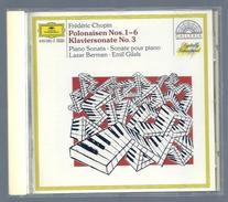 CD PIANO - CHOPIN : POLONAISES / CONCERTO N° 3 - LAZAR BERMAN Et EMIL GILELS, Piano - Klassik
