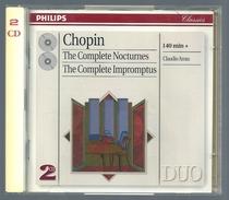 CD PIANO -(2 CD) -  CHOPIN : INTEGRALE DES NOCTURNES - CLAUDIO ARRAU, Piano - Klassik