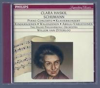 CD PIANO - SCHUMANN : CONCERTO / SCENES D'ENFANTS, DE LA FORET / VARIATIONS - CLARA HASKIL, Piano - Classique
