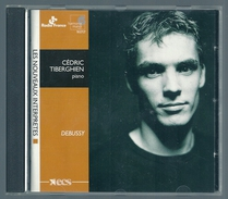 CD PIANO - DEBUSSY : ESTAMPES, IMAGES ... - CEDRIC TIBERGHIEN, Piano - Klassik