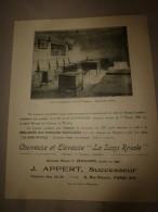 """1923 Publicité Volante (origine Revue)  COUVEUSE & ELEVEUSE  ----> """" LA SANS RIVALE """" - Advertising"""