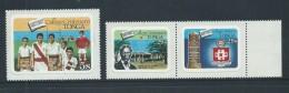 Tonga 1982 College Anniversary Set 3 , Single & Pair , English Language MNH - Tonga (1970-...)