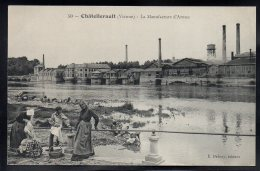 CHATELLERAULT 86 - La Manufacture D´Armes - Lavandières - Jolie Vue - Chatellerault