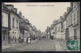 CHATELLERAULT 86 - Grande Rue (Châteauneuf) - Animée - Chatellerault