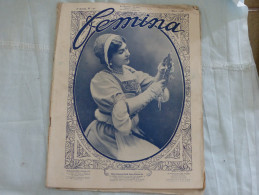 Revue FEMINA - N°171-8ème Année Mars 1908 - Mme Kousnietzoff Dans Marguerite - Cantatrice Russe - Mode Publicité - Livres, BD, Revues