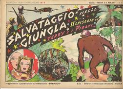 ALBI COSTELLAZIONE N. 8 - TERRY E I PIRATI- SALVATAGGIO NELLA GIUNGLA-1947 - Klassiekers 1930-50