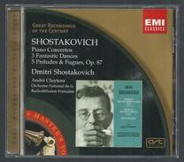 CD PIANO - SHOSTAKOVICH : CONCERTOS, FANTAISIES, PRELUDES & FUGUES - DMITRI  SHOSTAKOVICH, Piano - Klassik