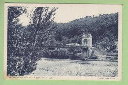 LIVINHAC LE HAUT : Le Pont Sur Le Lot . 2 Scans. Edition Combier - Altri Comuni