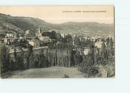 SAINTE EULALIE DE CERNON : Le Camp Du Larzac. 2 Scans. Edition A G - Altri Comuni