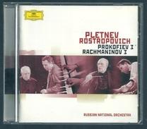 CD PIANO - PROKOFIEV / RACHMANINOV : CONCERTOS N° 3 - MIKHAIL PLETNEV, Piano - Klassik