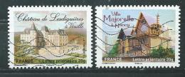 FRANCE   Adhésifs  Yvert  N° 733 Et 737  Oblitérés - France