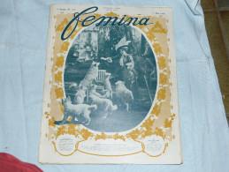 Revue FEMINA - N°176 - 8 ème Année Mai 1908 - Avant L'exposition Canine - Books, Magazines, Comics