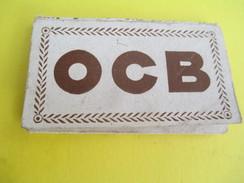 Carnet De Feuilles Papier à Cigarette/O C B/Papeteries R.Bolloré/ODET-QUIMPER/France/Vers 1930-50      CIG30 - Tabac (objets Liés)