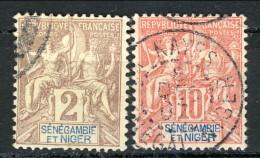 Senegambia E Niger 1903 N. 2 E N.  5 USATI Catalogo € 10