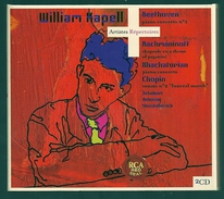 CD PIANO - BEETHOVEN, RACHMANINOV, KHACHATURIAN, CHOPIN... - WILLIAM KAPELL, Piano - Klassik